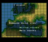 Operation Europe: Path to Victory 1939-45 SNES Play as either Axis or Allied forces.