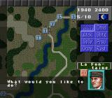 Operation Europe: Path to Victory 1939-45 SNES Even more commands