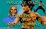 Bruce Lee Lives DOS Title Screen (VGA)