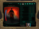 Star Wars: Knights of the Old Republic II - The Sith Lords Windows The option to play dark side is ever present.