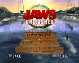 Jaws: Unleashed Windows Main menu.