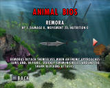 Jaws: Unleashed Windows Game includes animal bios.