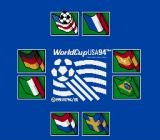 World Cup USA 94 SNES Select your country.