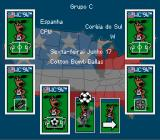 World Cup USA 94 SNES Set your team play order.