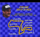 Nigel Mansell's World Championship Racing SNES Mansell's advice 2
