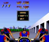 Nigel Mansell's World Championship Racing SNES Pit stop