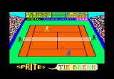 Tie Break Amstrad CPC Title screen