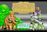 Space Harrier SEGA 32X Title Screen