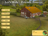 Let's Ride! Friends Forever Windows Main menu