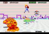 Space Harrier SEGA 32X Things just get wierder and wierder.