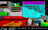 Manhunter 2: San Francisco Amiga The office in the warehouse.
