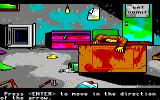 Manhunter 2: San Francisco Amiga Looks like I've found a murder scene.
