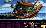 Monkey Island 2: LeChuck's Revenge Amiga On Captain Dread's ship. (Monkey Island 2 Lite Mode)