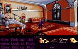 Monkey Island 2: LeChuck's Revenge Amiga In the governor of Phatt Island's mansion. (Monkey Island 2 Lite Mode)