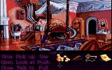 Monkey Island 2: LeChuck's Revenge Amiga The governor of Phatt Island's room. (Monkey Island 2 Lite Mode)