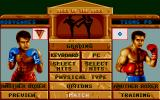 Best of the Best Championship Karate DOS Main menu (VGA)