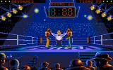 Best of the Best Championship Karate DOS The ref sets up the fighters. (VGA)