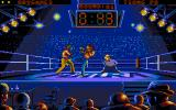 Best of the Best Championship Karate DOS A good solid kick to the thigh (VGA)