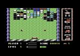 Addicta Ball Commodore 64 Hitting the first balls