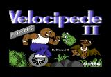 Velocipede II Commodore 64 Title screen