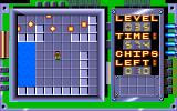 Chip's Challenge Amiga Level 35 - Lemmings.