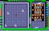 Chip's Challenge Amiga Level 91 - Jumping Swarm.