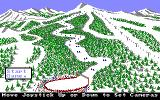 The Games: Winter Edition Amiga Down Hill - Set up your cameras.