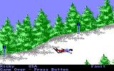 The Games: Winter Edition Amiga Down Hill - Fell down.