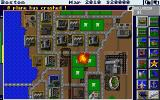 SimCity Amiga A plane has crashed! (1 Meg 32 color version)