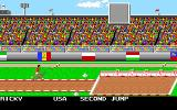 Mega Sports Amiga Triple Jump. (Summer Games 2)