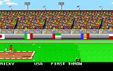 Mega Sports Amiga Javelin. (Summer Games 2)