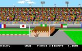 Mega Sports Amiga High Jump. (Summer Games 2)