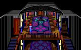 The Colonel's Bequest Amiga Upstairs. Be careful around that railing, it's broken.