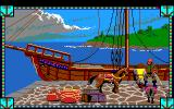 Conquests of Camelot: The Search for the Grail Amiga The docks.