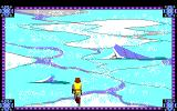 Conquests of Camelot: The Search for the Grail Amiga Walking on the frozen lake