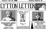 Police Quest 2: The Vengeance Amiga If you start shooting at random you'll get this newspaper screen. Notice the King's Quest 4 reference.