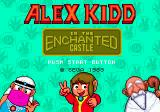 Alex Kidd in the Enchanted Castle Genesis Title