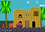 Alex Kidd in the Enchanted Castle Genesis City level