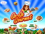 Go-Go Gourmet Windows Main menu