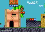 Alex Kidd in the Enchanted Castle Genesis Trying to reach the treasure