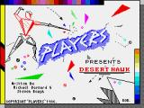 Desert Hawk ZX Spectrum Loading screen