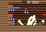 Alex Kidd in the Enchanted Castle Genesis A secret cave with treasure to loot