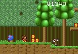 Alex Kidd in the Enchanted Castle Genesis Forest level