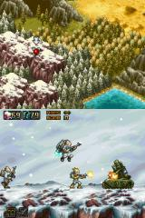 Commando: Steel Disaster Nintendo DS Fighting the first miniboss.