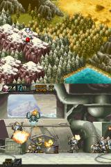 Commando: Steel Disaster Nintendo DS Part two of stage one - Snow base.