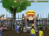 Zoo Tycoon 2: Extinct Animals Windows Not sure how fresh the meat this guy sells is...