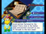 Mario Party 4 GameCube Instructions for a mini game