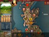 Crusader Kings: Deus Vult Windows Main interface. Note the different topbar and the alert icons.