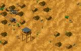 Jungle Strike DOS Level 3 - An enemy training camp.