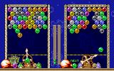 Bust-A-Move DOS Two player head to head game. This can be played against another player on the keyboard or against the PC.